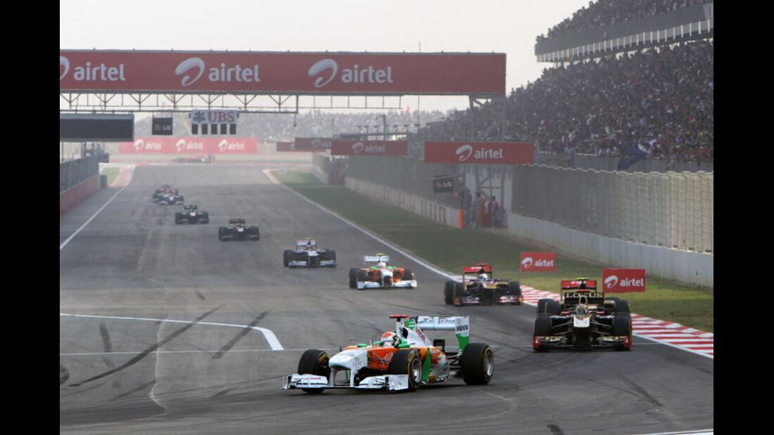 Adrian Sutil GP Indien 2011