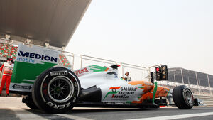 Adrian Sutil GP Indien 2011