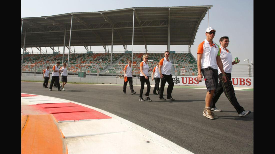 Adrian Sutil - GP Indien - 27.10.2011