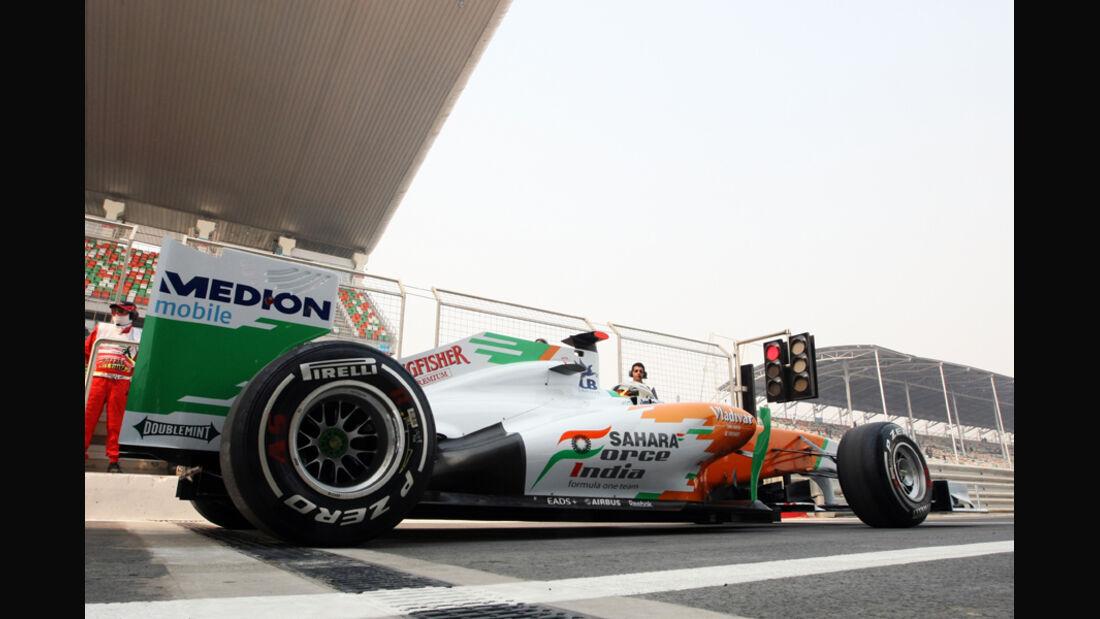 Adrian Sutil - GP Indien - Delhi - 29.10.2011