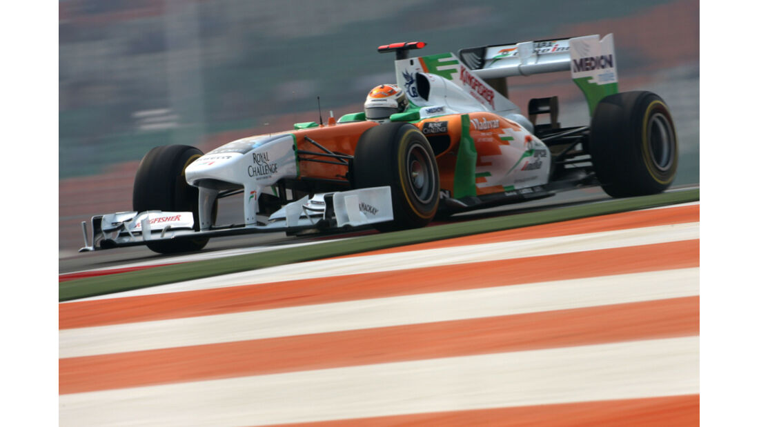 Adrian Sutil - GP Indien - Training - 28.10.2011