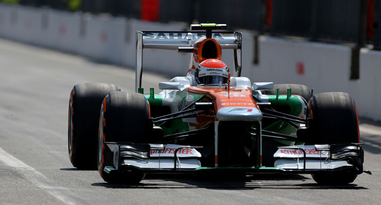 Adrian Sutil - GP Italien 2013