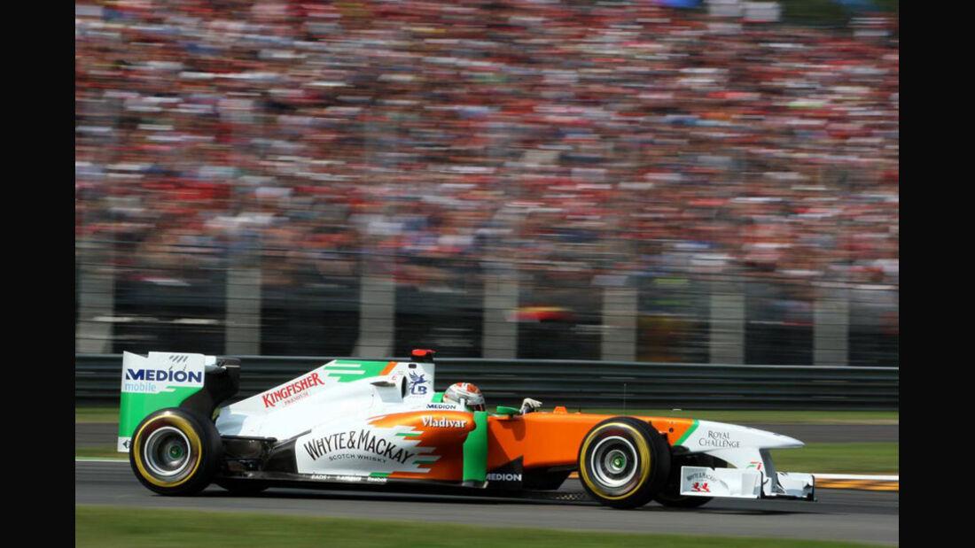 Adrian Sutil - GP Italien - Monza - 10. September 2011