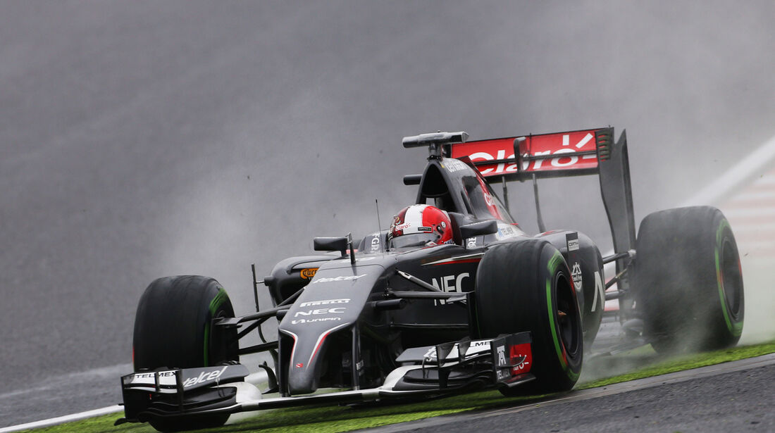 Adrian Sutil - GP Japan 2014