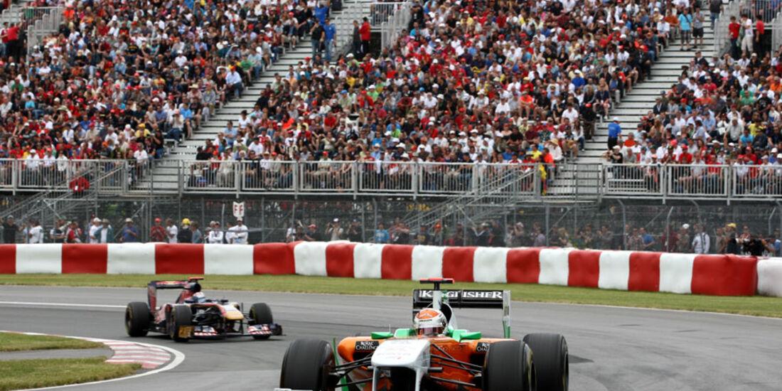 Adrian Sutil GP Kanada 2011