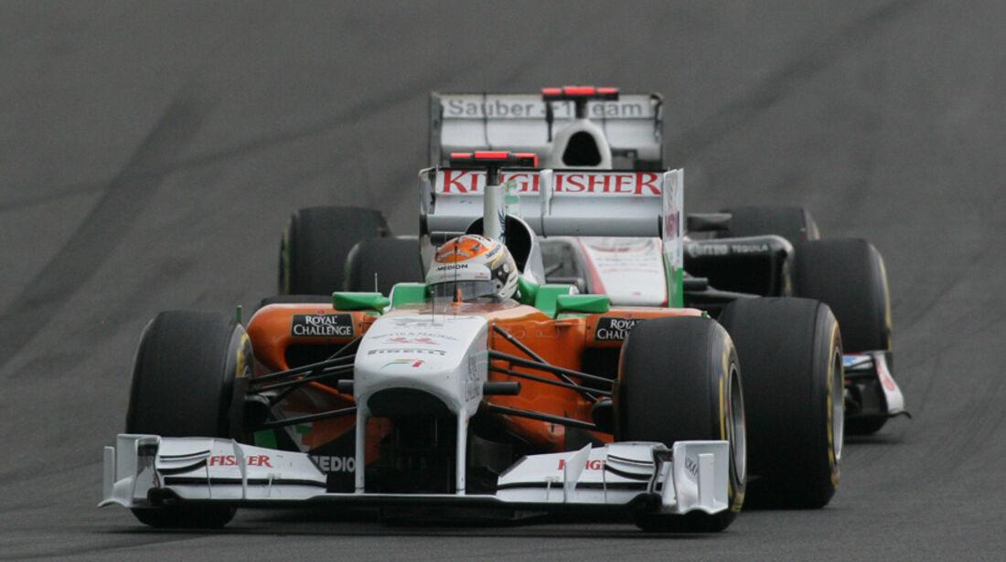 Adrian Sutil GP Korea 2011