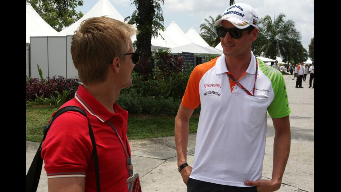 Adrian Sutil - GP Malaysia 2011