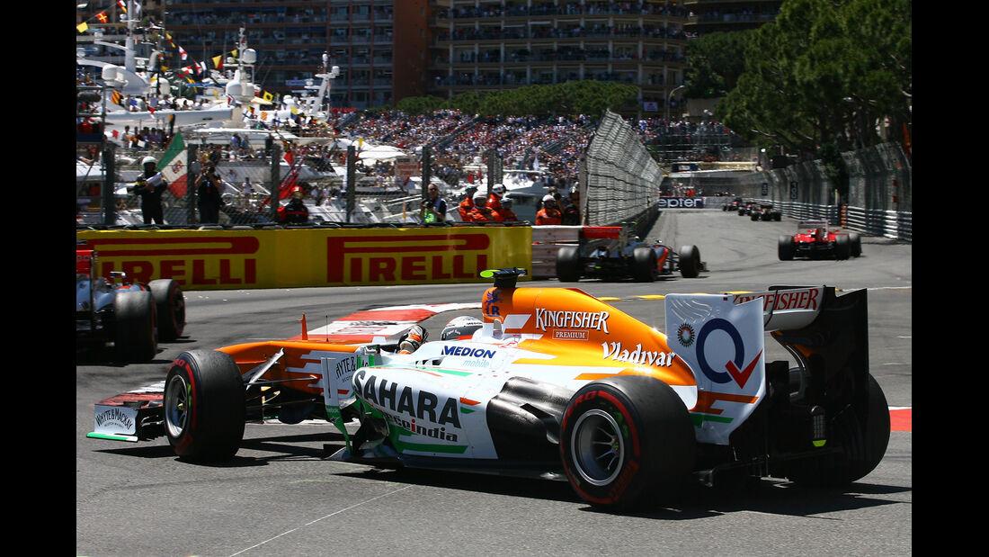 Adrian Sutil - GP Monaco 2013