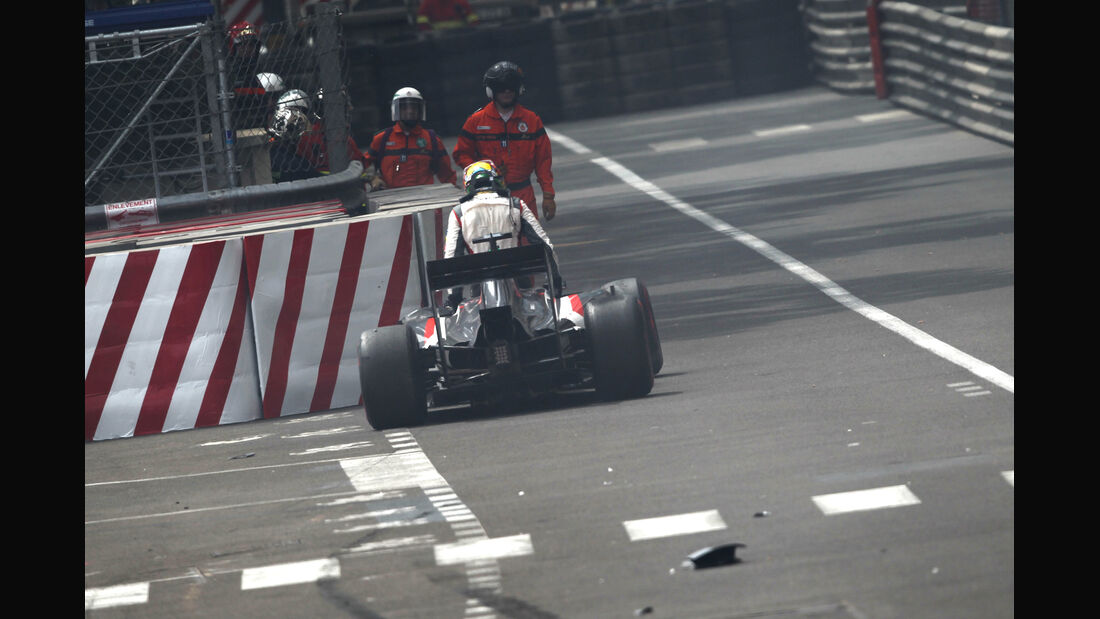 Adrian Sutil - GP Monaco 2014