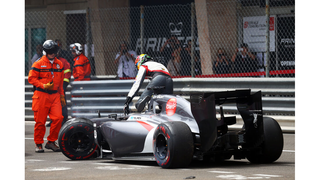 Adrian Sutil - GP Monaco - Crashs 2014
