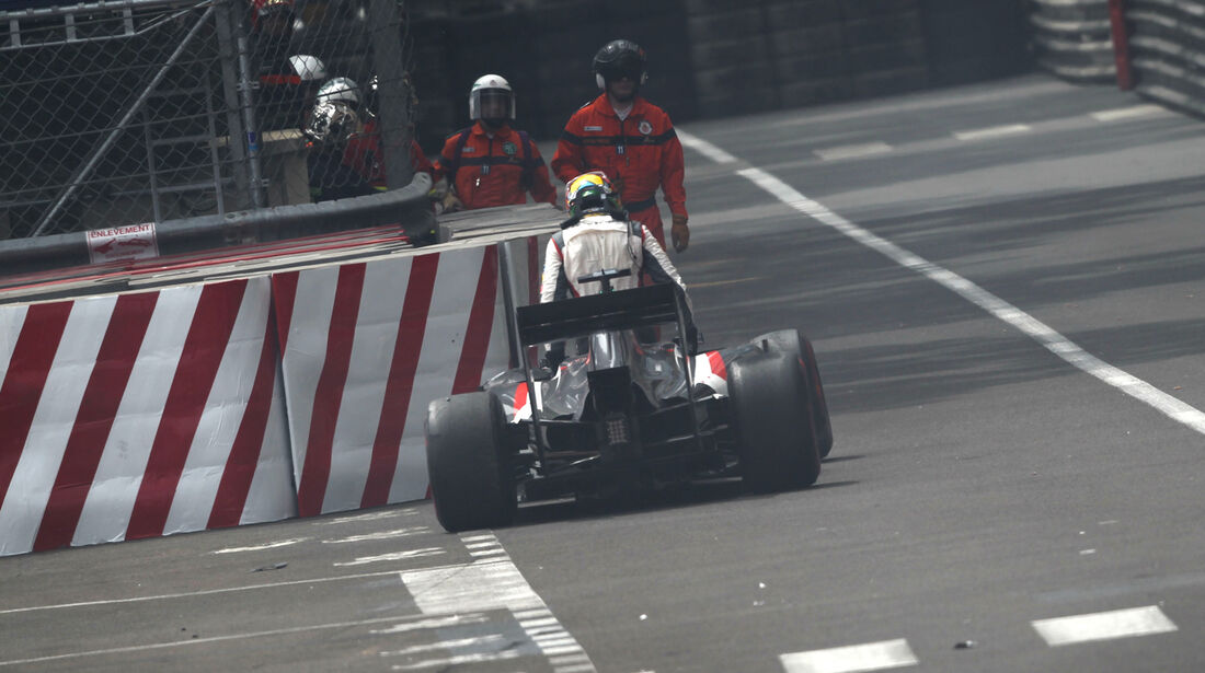 Adrian Sutil - GP Monaco - Crashs 2014
