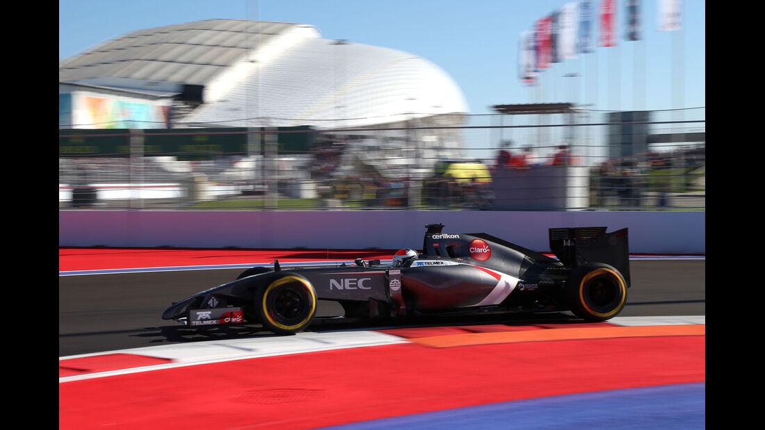 Adrian Sutil - GP Russland 2014