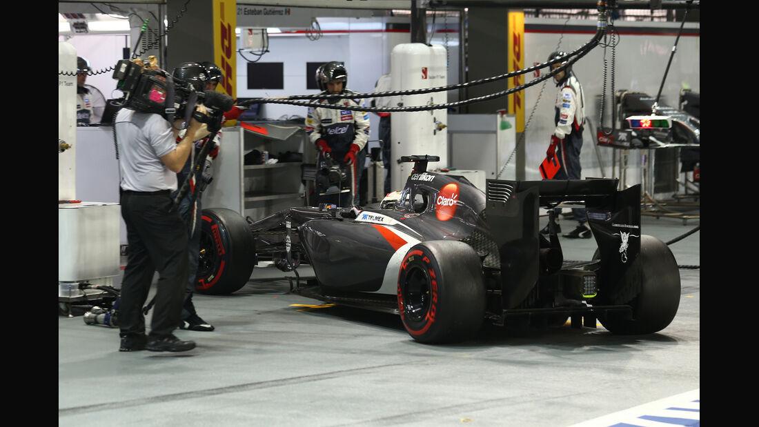 Adrian Sutil - GP Singapur 2014