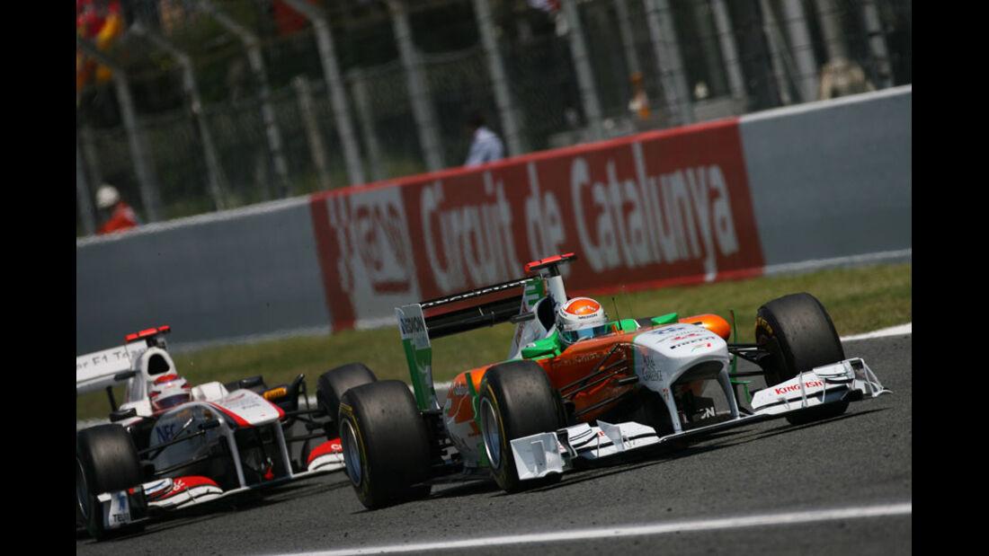Adrian Sutil GP Spanien 2011