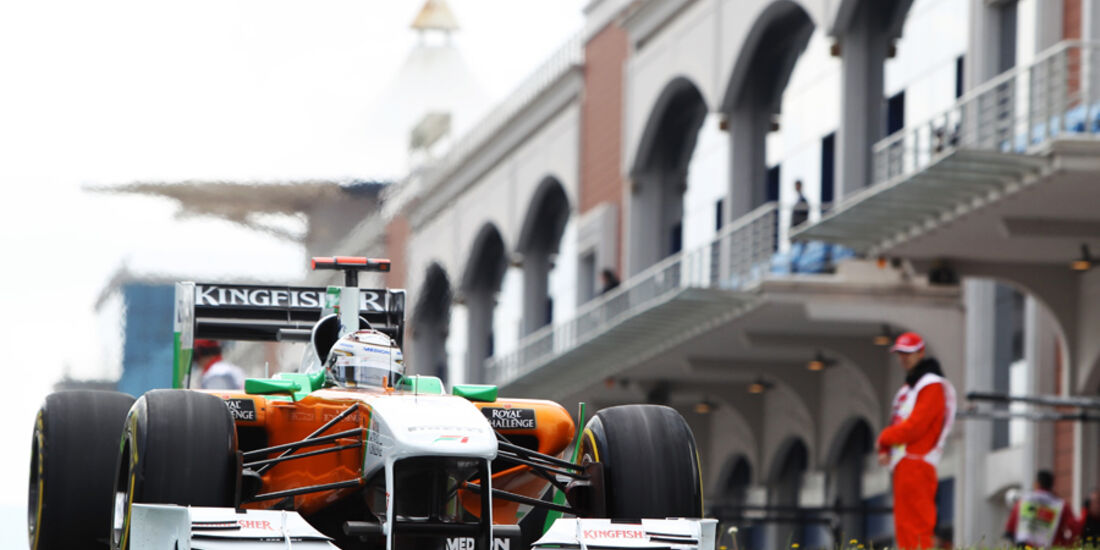 Adrian Sutil GP Türkei 2011