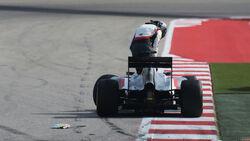 Adrian Sutil - GP USA 2014