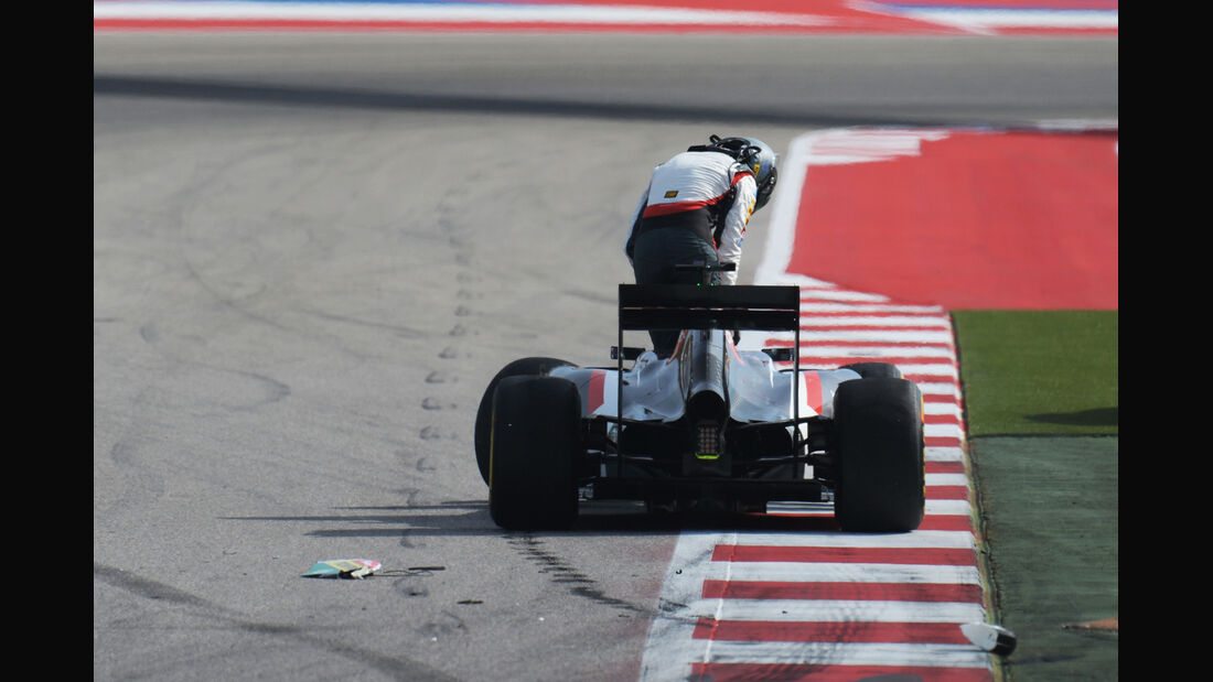 Adrian Sutil - GP USA 2014