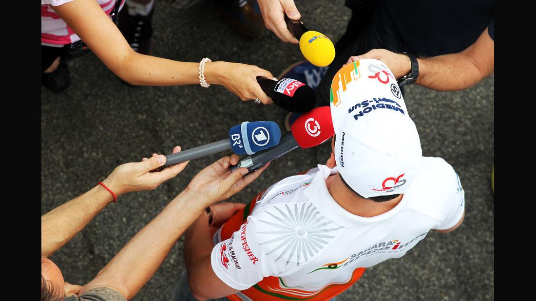 Adrian Sutil GP Ungarn 2013