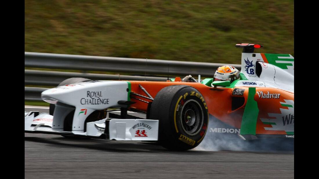Adrian Sutil - GP Ungarn - Formel 1 - 29.7.2011