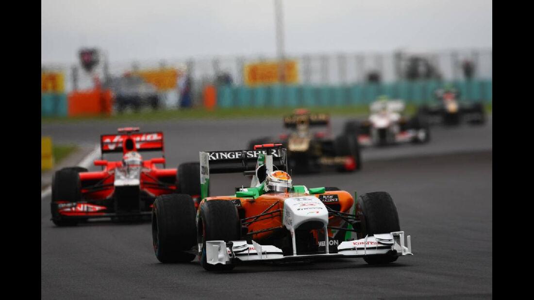 Adrian Sutil - GP Ungarn - Formel 1 - 31.7.2011 - Highlights