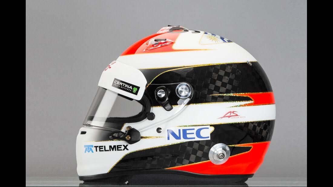 Adrian Sutil Helm - Sauber 2014