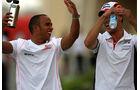 Adrian Sutil & Lewis Hamilton