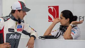 Adrian Sutil & Monisha Kaltenborn - 2014