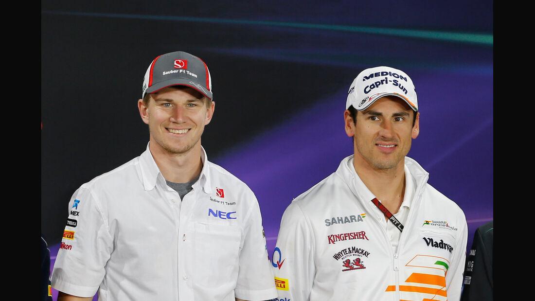 Adrian Sutil & Nico Hülkenberg - Sauber - GP Korea 2013