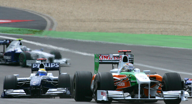 Adrian Sutil & Nico Rosberg