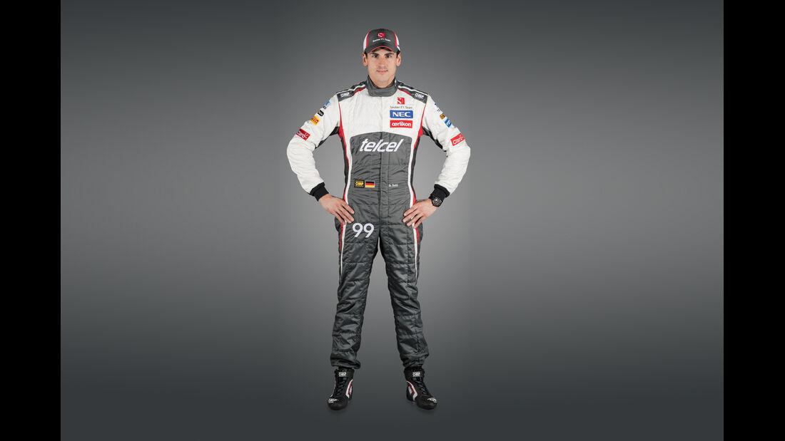 Adrian Sutil - Sauber 2014