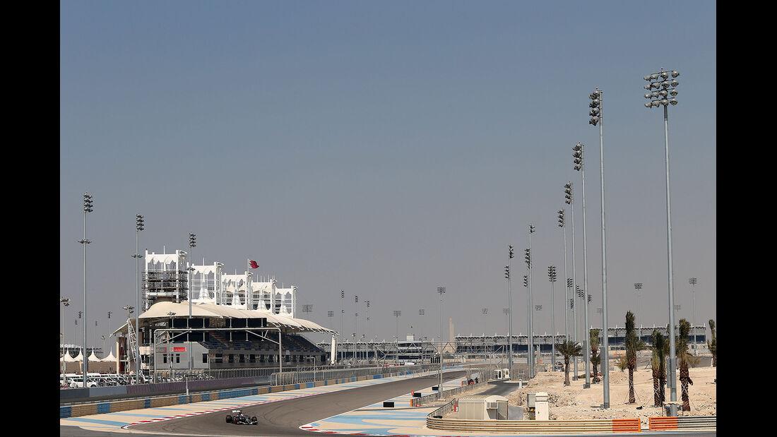 Adrian Sutil - Sauber - Formel 1 - Bahrain - Test - 19. Februar 2014