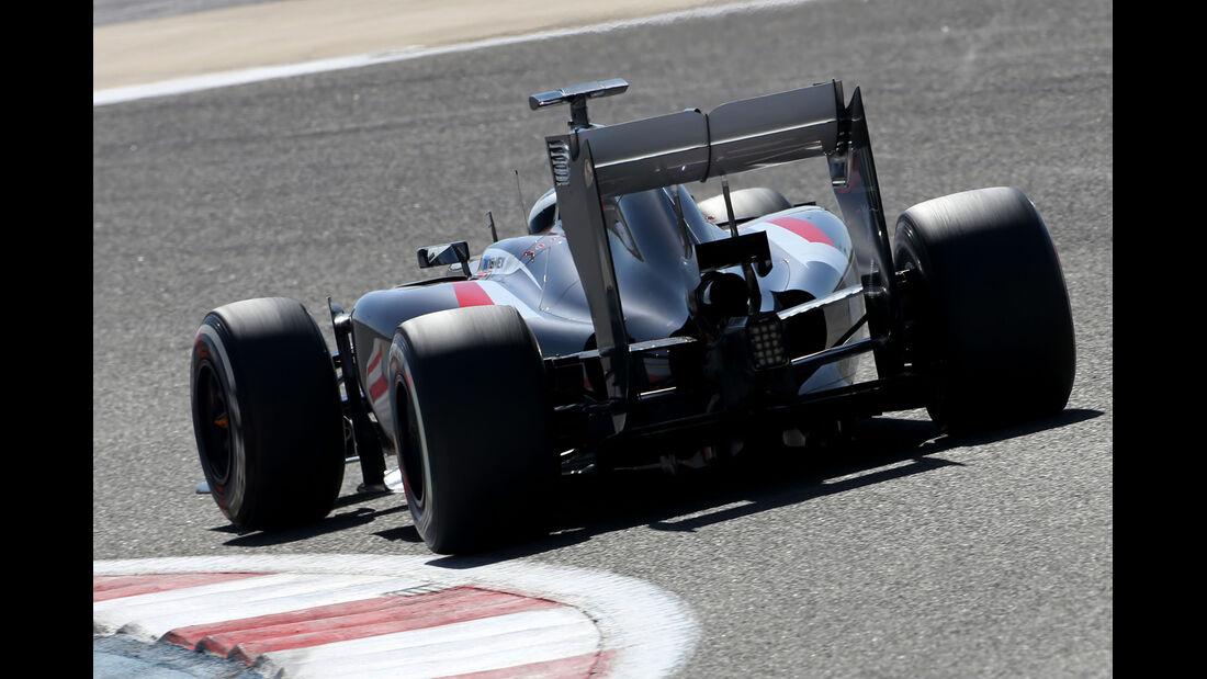 Adrian Sutil - Sauber - Formel 1 - Bahrain - Test - 2. März 2014
