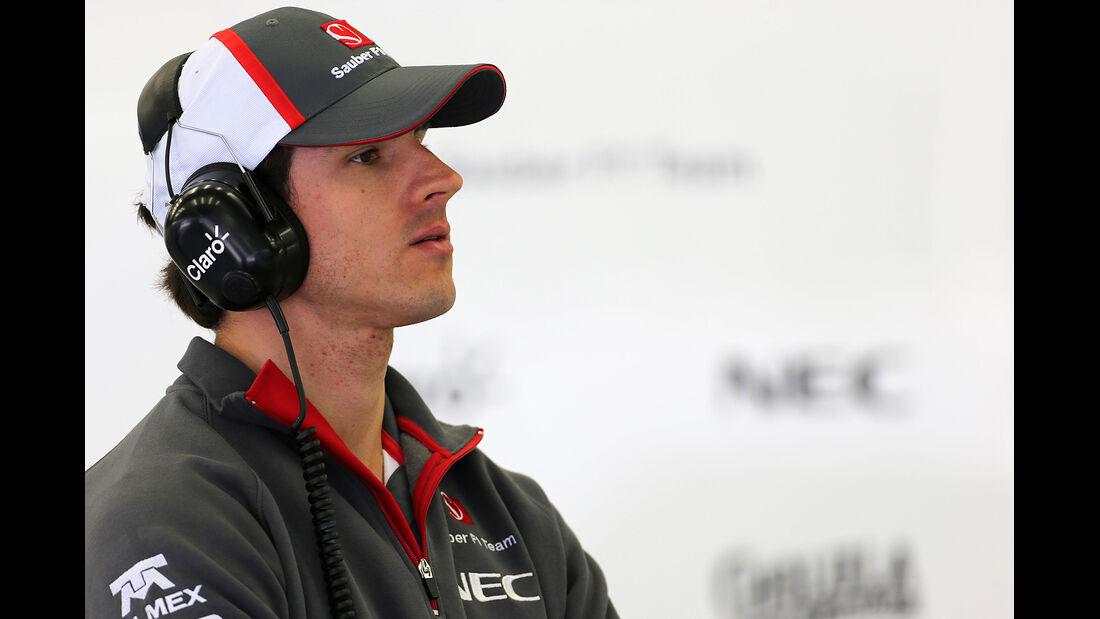 Adrian Sutil - Sauber - Formel 1 - Bahrain - Test - 21. Februar 2014
