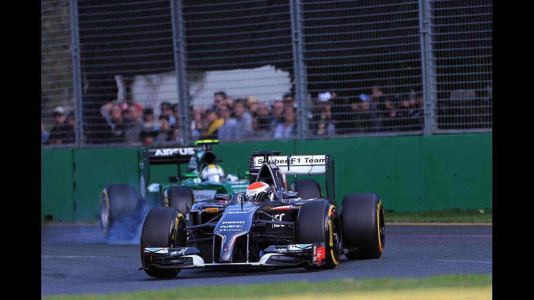 Adrian Sutil - Sauber - Formel 1 - GP Australien - 16. März 2014