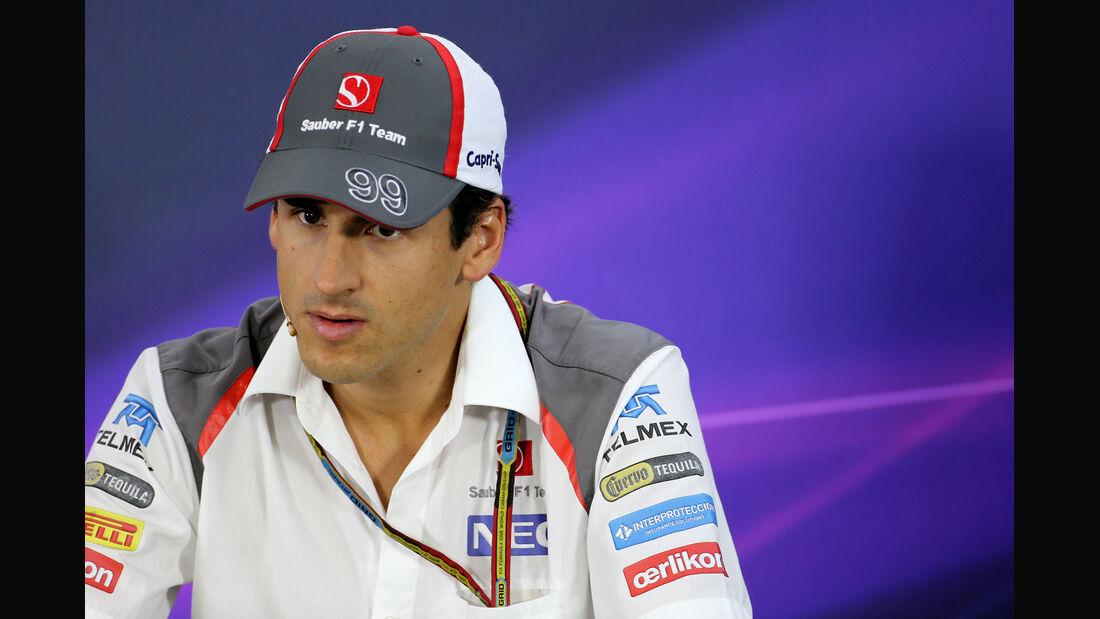 Adrian Sutil - Sauber - Formel 1 - GP Brasilien - 6. November 2014