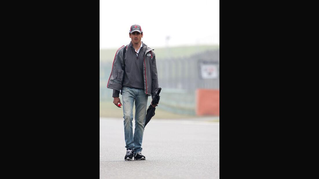 Adrian Sutil - Sauber - Formel 1 - GP China - Shanghai - 17. April 2014