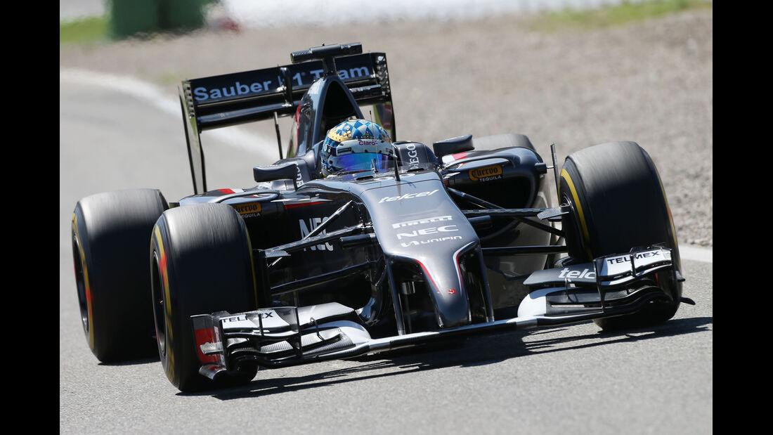 Adrian Sutil - Sauber - Formel 1 - GP Deutschland - Hockenheim - 18. Juli 2014