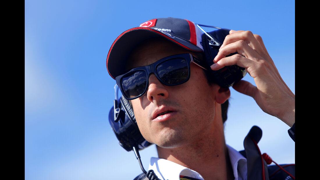 Adrian Sutil - Sauber - Formel 1 - GP England  - Silverstone - 4. Juli 2014