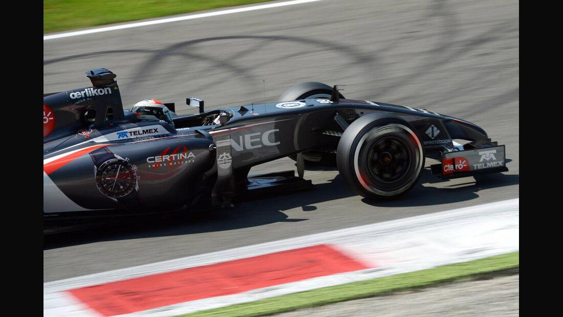 Adrian Sutil  - Sauber - Formel 1 - GP Italien - 6. September 2014