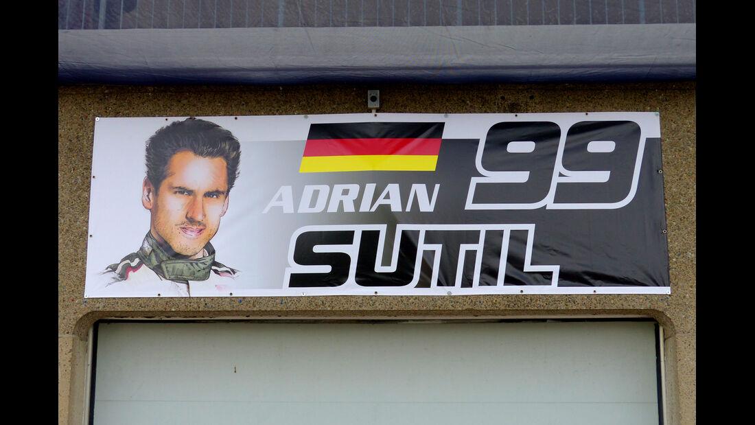 Adrian Sutil - Sauber - Formel 1 - GP Kanada - Montreal - 4. Juni 2014
