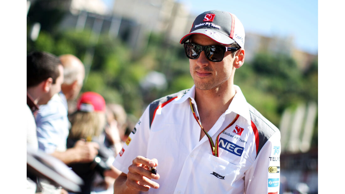 Adrian Sutil - Sauber - Formel 1 - GP Monaco 2014