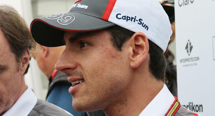 Adrian Sutil - Sauber - Formel 1 - GP Monaco - 21. Mai 2014