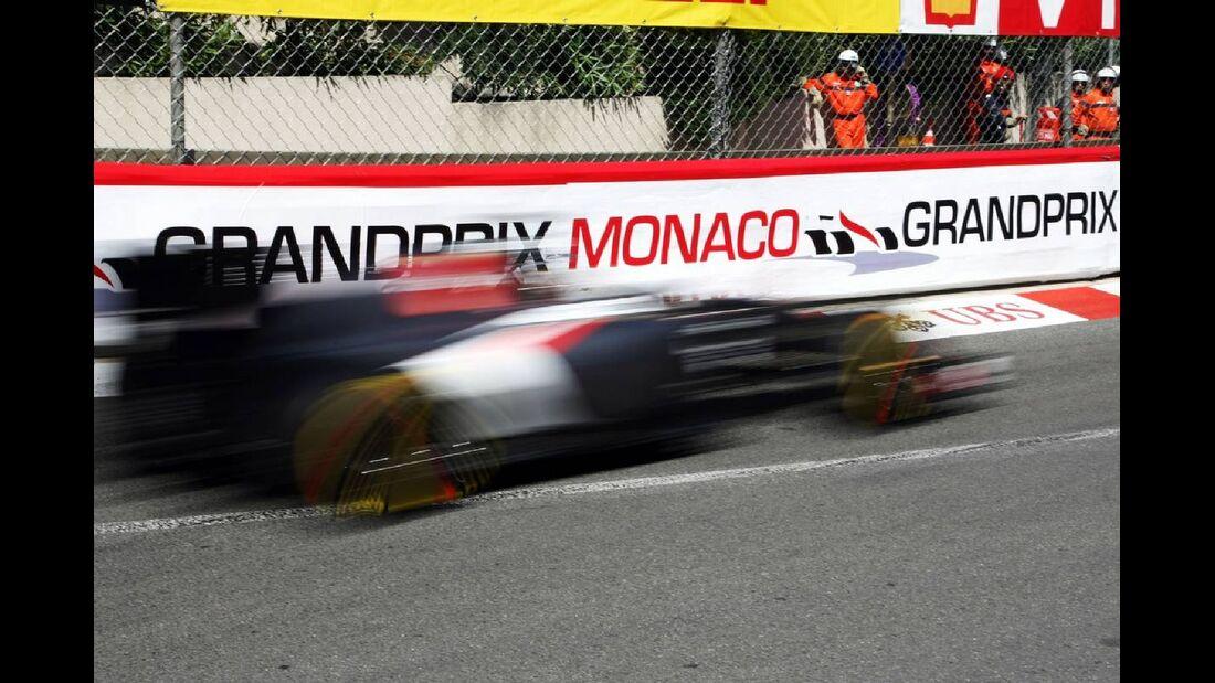 Adrian Sutil - Sauber - Formel 1 - GP Monaco - 24. Mai 2014