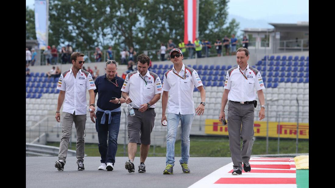 Adrian Sutil - Sauber - Formel 1 - GP Österreich - Spielberg - 19. Juni 2014