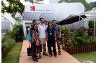 Adrian Sutil - Sauber - Formel 1 - GP Singapur - 18. September 2014