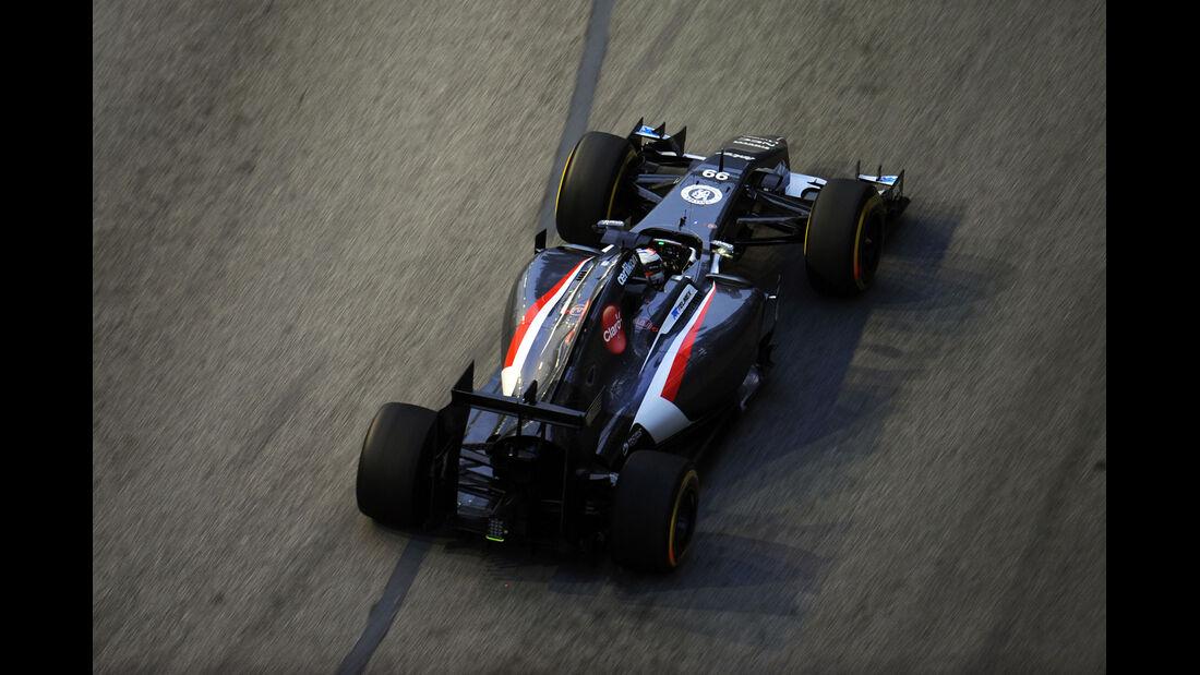 Adrian Sutil - Sauber - Formel 1 - GP Singapur - 19. September 2014