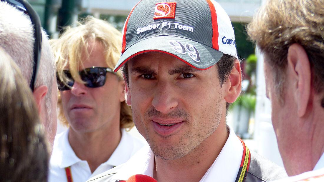 Adrian Sutil - Sauber - Formel 1 - GP Spanien - Barcelona - 8. Mai 2014