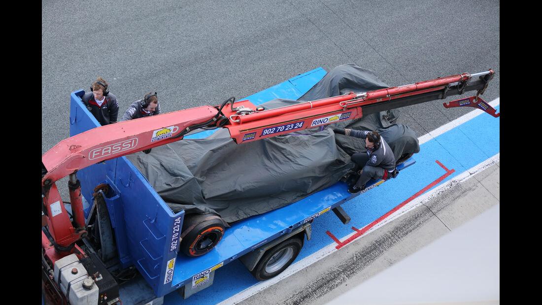 Adrian Sutil - Sauber - Formel 1 - Jerez - Test - 30. Januar 2014