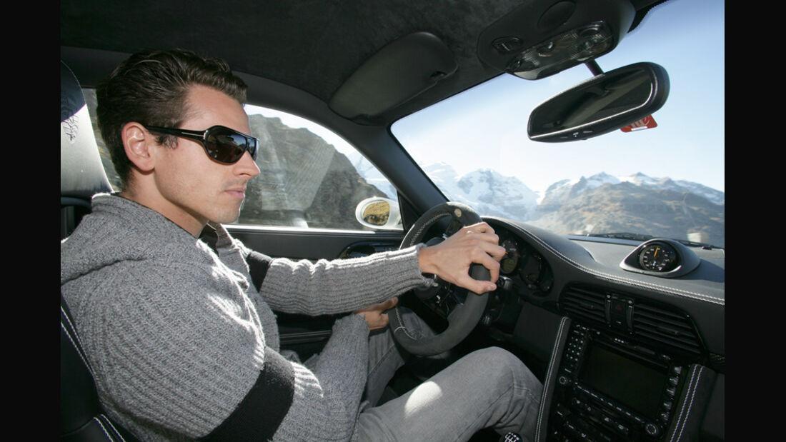 Adrian Sutil & Techart Porsche GT2