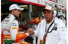 Adrian Sutil - Vijay Mallya - Formel 1 - GP Monaco - 25. Mai 2013